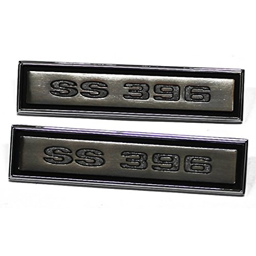 Panel Emblem Chevelle - SS 396 Door Panel Emblems for 1968 Chevelle, Pair