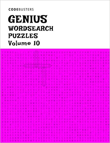 picture regarding 100 Word Word Search Printable known as Invest in Genius Wordsearch Puzzles, Quantity 10: (100 Genius Phrase