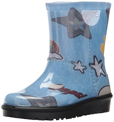 UGG Girls T Rahjee Patches Rain Boot, Denim, 9 M US for sale  Delivered anywhere in USA