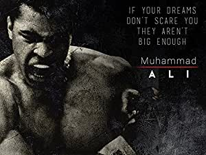Muhammad Ali Poster Dream Big Quote Art Print (18x24)