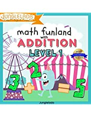Math Funland with Addition: Level 1: Have Fun Learning Addition Sums 0-10! An Interactive Audio Learning Book for Kids! Great for Pre-K, Kindergarten, & 1st Grade! Bonus Educational Gift Inside!