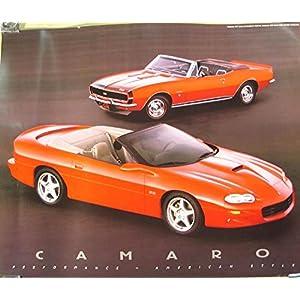 1967 & 1999 Chevrolet Camaro & Z28 Sales Poster