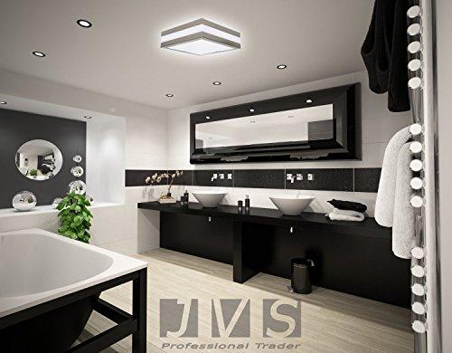 Lampada led a soffitto bagno esterni provance e27 230 v ip44 led