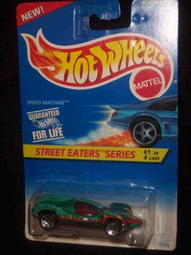 Street Eaters Series # 1 Speed ??Machine 5-Spoke Mint # 412 1:64 Escala