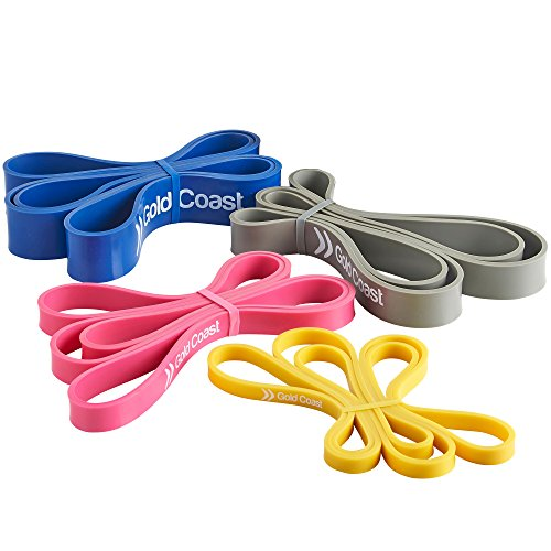 gold-coast-set-of-4-resistance-loop-bands-pull-up-bands-for-crossfit-strength-training-weightlifting