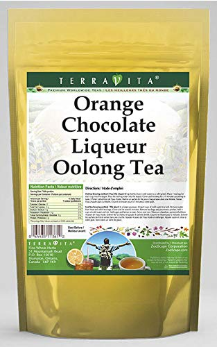 Orange Chocolate Liqueur Oolong Tea (25 Tea Bags, ZIN: 540081) - 2 Pack