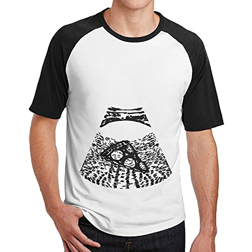 Double Happiness Raglan Maternity Ultrasound Pizza Tee Black L For Mens Or - Sunglasses Blenders Amazon