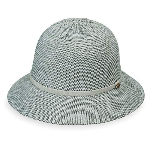 Wallaroo Hat Company Women's Tori Sun Hat – Mixed Seafoam - UPF 50+, New 2019