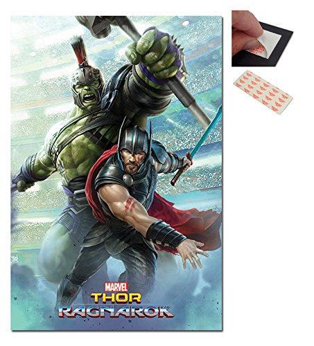 Marvel Thor Ragnarok & Hulk Poster - 91.5 x 61cms