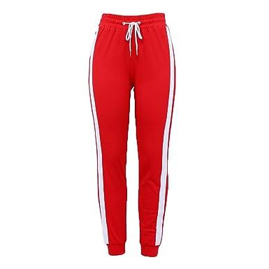 junkai Pantalones de chándal Otoño Invierno Pantalones Largos ...