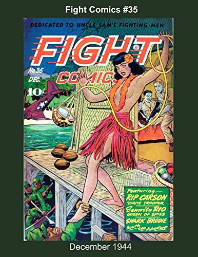 Fight Comics #35 - December 1944 (Golden Age Reprints by StarSpan) (Action Comics 35)