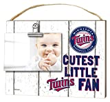 "KH Sports Fan 10""x8"" Minnesota Twins Clip It Weathered Baby Logo Photo Frame"