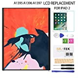 LCD Screen Replacement for IPad 2 - for iPad A1397 A1395 A1396 LCD Display Panel Repair Parts Kit