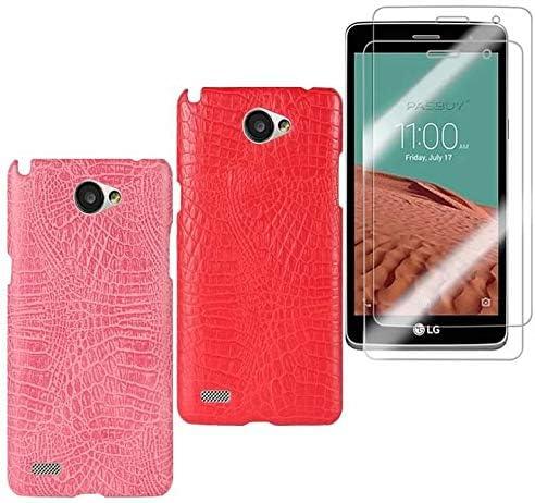 Funda para LG L Bello 2 de Piel con diseño de cocodrilo, para ...