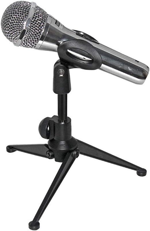 VHGYU Pie de micrófono Escritorio trípode Metal micrófono ...