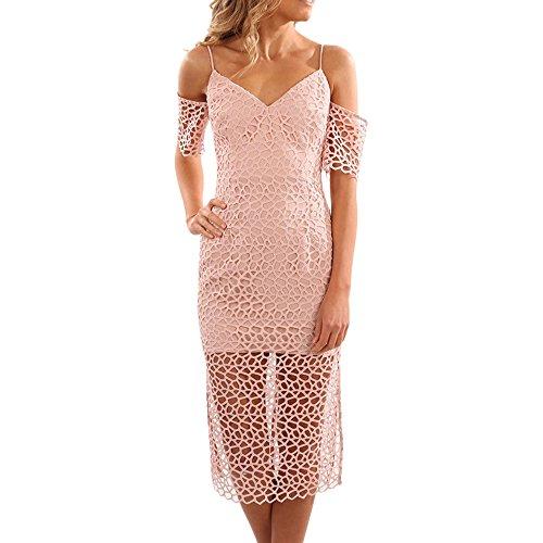 Keepsake The Label Countdown Lace Dress in Blush (Small, Blush)