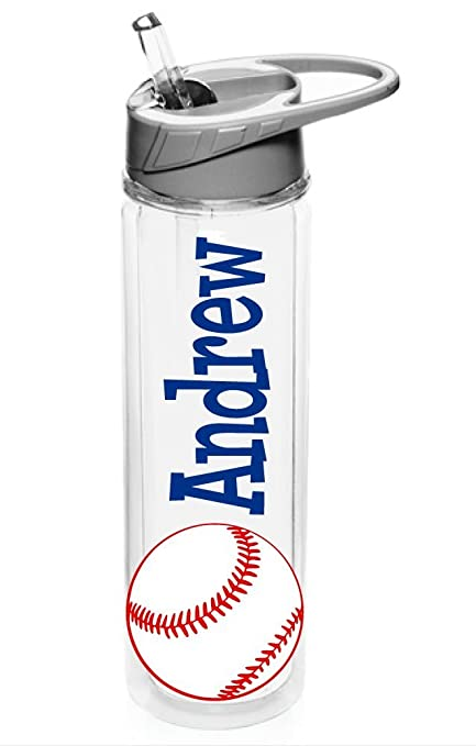 ffb0d0b7cd0 Image Unavailable. Image not available for. Color: Personalized Drink ware  Baseball ...