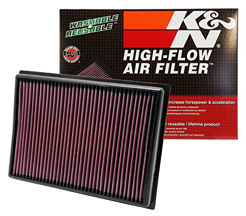 K&N 33-2438 High Performance Replacement Air Filter