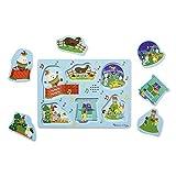 Melissa & Doug 6pc Sound Puzzle - Nursery Rhymes 2
