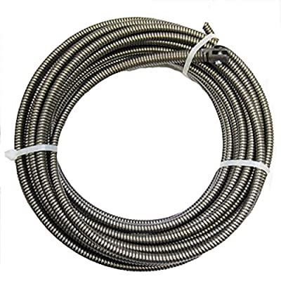 Cobra 100-Ft 3/8 Music Wire Machine Drain Auger Pipe