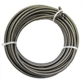 Cobra 50-Ft 5/16 Music Wire Machine Drain Auger Pipe