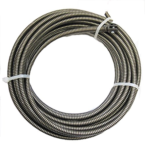 100 ft Drain Auger Cable Replacement Cleaner Snake Clog Pipe Sewer Cleaner