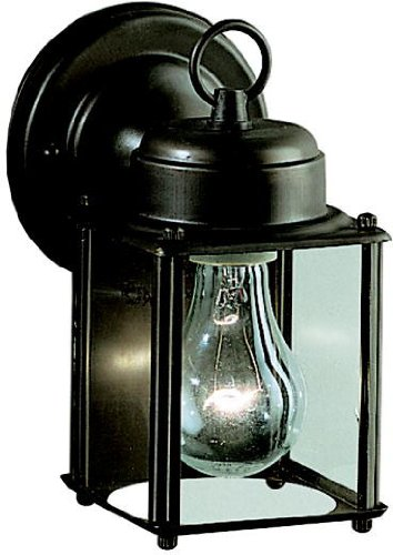 (Kichler 9611OZ Patio Wall Sconce Lantern Outdoor Lighting, 8.25