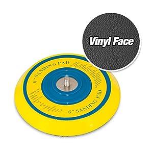 "6"" DA Vinyl PSA Face Sanding Pad for Dual Action Sanders (use sticky back discs)"