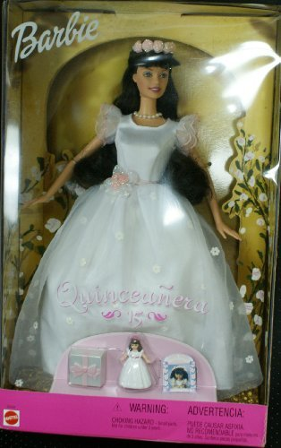 3d8cb58d309 Image Unavailable. Image not available for. Color  Barbie Quinceanera 15  doll