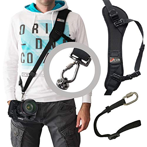 DSLR/SLR Camera Shoulder Strap,Ocim Camera Sling Strap with Quick Release and Safety Tether