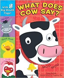 Amazon What Does Cow Say Joan Holub Jannie