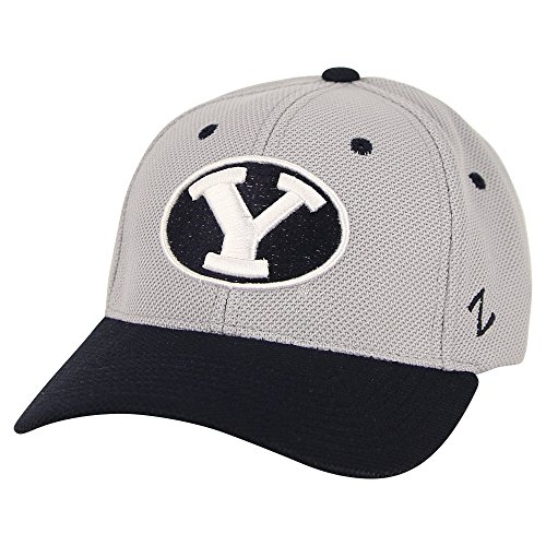 (Zephyr NCAA Sport Fitted Hat(Bingham Young Cougars, Medium/Large))