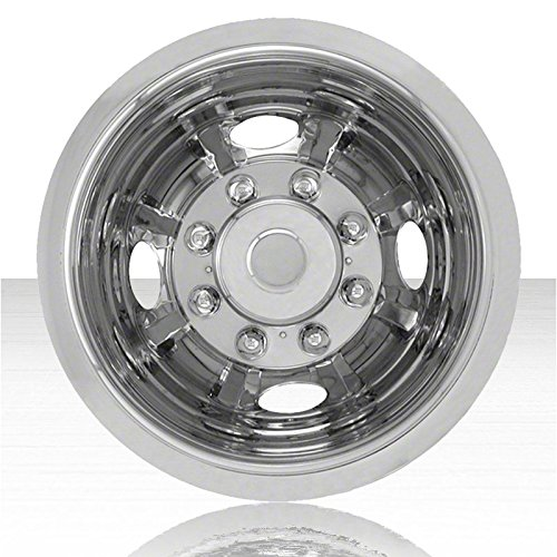 - Upgrade Your Auto Single Rear 16' Polished Stainless Steel Wheel Simulators (Push-on)