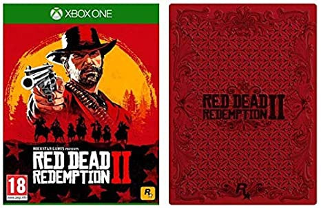 Red Dead Redemption 2 with Collectible SteelBook (Exclusive