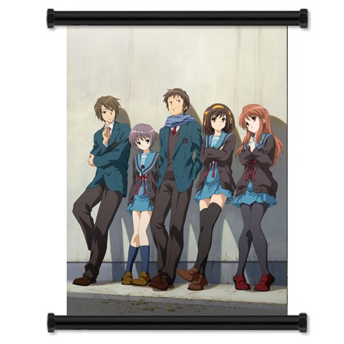 (Disappearance of Haruhi Suzumiya Anime Fabric Wall Scroll Poster (32