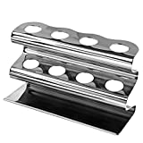 Stainless Steel Razor Stand / Toothbrush Holder, Bacteria-Free...