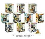 Funko POP Mystery Anime Bundle Pack Set of 6! 6 Random Pops No Duplication! Includes 6 Golden Groundhog Plastic Protector Cases! Bundle Produced Golden Groundhog!