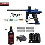 Maddog Spyder Fenix Advanced Paintball Gun Package - Blue