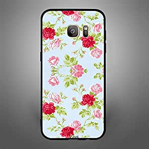 Samsung Galaxy S7 Edge Pink and Red Roses