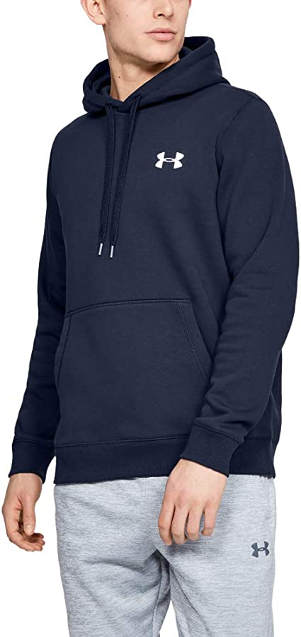 Under Armour Rival Fitted Pull Over Sweat à Capuche Homme