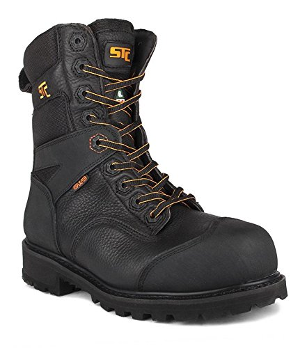 STC B079QJGTQ8 Barrier Men's Work Boot (CSA), Black B079QJGTQ8 STC Shoes 7571e5