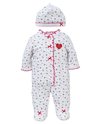 Little-Me-Baby-Girls-First-Christmas-Cotton-Footie