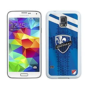 Fashionable And Antiskid Designed MLS Montreal Impact Samsung Galaxy S5 I9600 G900a G900v G900p G900t G900w Case Cover 08 White