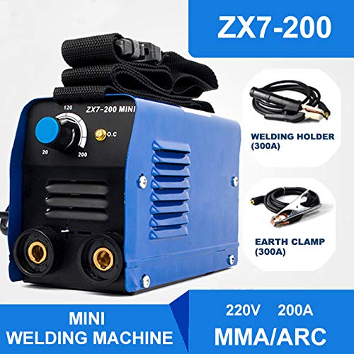IGBT MMA//ARC//STICK Mini 200AMP 220V Inverter Welding Machine Household Welder with Some Consumables