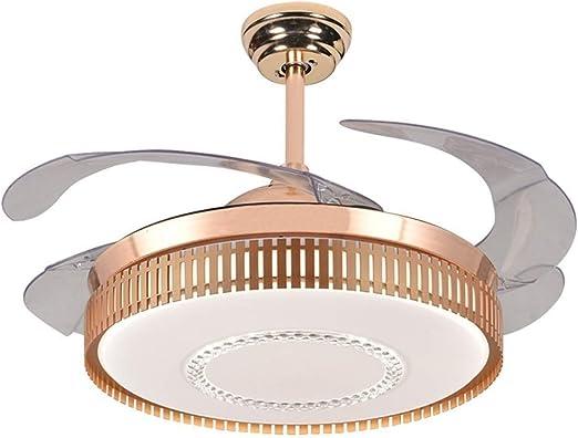 LAZ Luz de Ventilador de Techo Invisible Moderna, lámpara de Techo ...