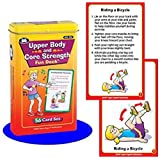 Upper Body and Core Exercise Cards - Super Duper Educational Learning Toy for Kids