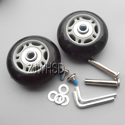 luggage wheels replacement  amazon com
