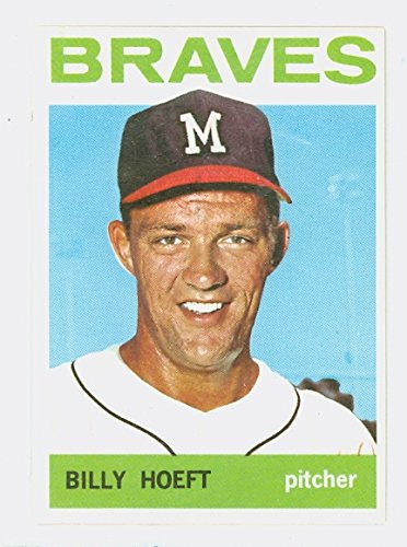 1964 Topps Baseball 551 Billy Hoeft High Number Milwaukee Braves Excellent to - Baseball 1964 Topps