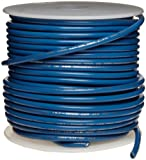 UL1015 Commercial Copper Wire, Bright, Blue, 20 AWG, 0.032'' Diameter, 100' Length (Pack of 1)