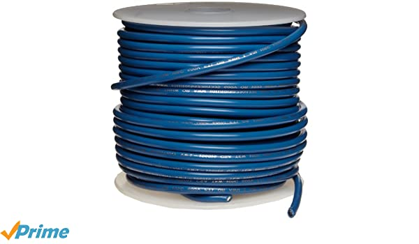 UL1015 Commercial Copper Wire 16 AWG Bright Pack of 1 0.0508 Diameter 100 Length Blue
